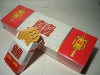 Double Happiness(上海双喜) White Label Brand Chinese Cigarettes One